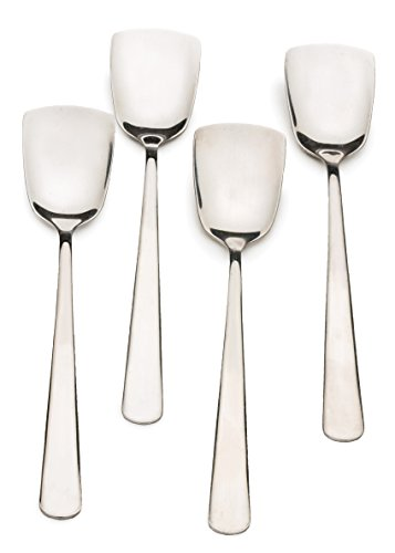 RSVP Endurance Stainless Steel Ice Cream Spoons, Set of 4