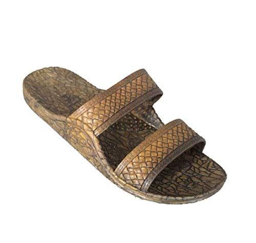 Men's J-Slips Hawaiian Jesus Sandals (Big Sizes up to US Men's 14) (Men's : 9.5, Coconut)