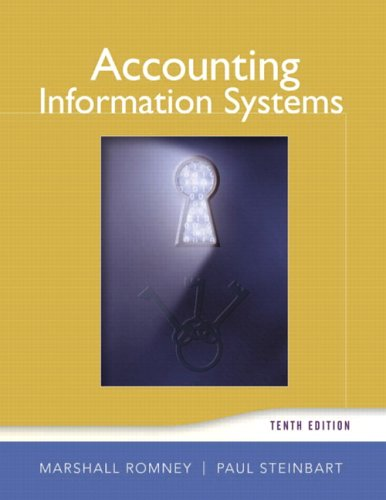 Accounting Information Systems (10th Edition) -
