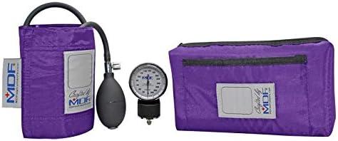 MDF® Calibra® Aneroid Blutdruckmessgerät - Blutdruckmessgerät - Gratis-Parts-for-Life & Lebenslange-Garantie - Lila (MDF808M-08)