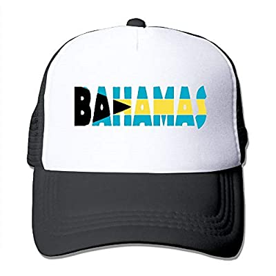 FashionMZI Unisex Trucker Hat Bahamas Men's Adjustable Mesh Cap Newest Cricket Cap