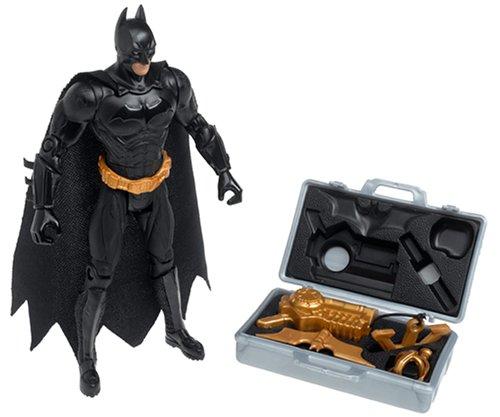 - Target Exclusive Batman Begins Silver Battle Gear Figure