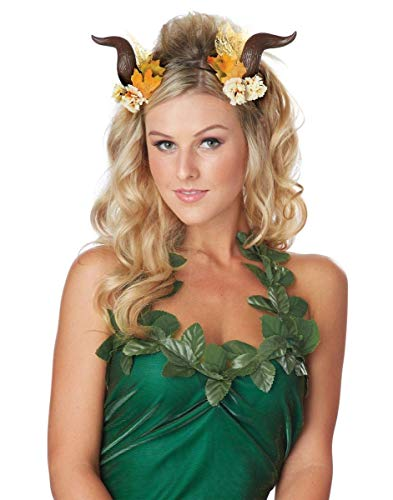 California Costumes Women's Woodland Fairy Horns, Brown One Size ()