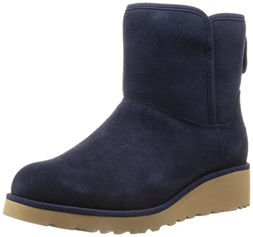 UGG Women's Kristin Winter Boot, Navy, 1 - Ugg Suede Wedges Shopping Results