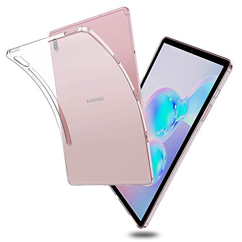 Ratesell TPU Case for Samsung Galaxy S6 10.5, Crystal Clear Soft Anti-Scratches Protective Shell Cover Bumper Back Silicone Case for Samsung Galaxy Tab S6 10.5 Inch Models SM-T860, SM-T865 Clear