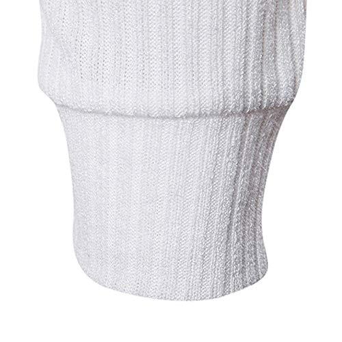 Hiver Automne Blanc Homme Blouse Pull En Outwear Mince Maille Ihengh wApvqv