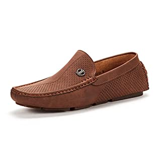 Men's Casual Brown Loafers