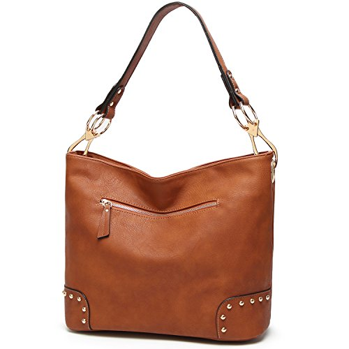 Satchel Tote Women Bags Purses 2 Handbags TcIFE Brown and Shoulder for dgqdZw