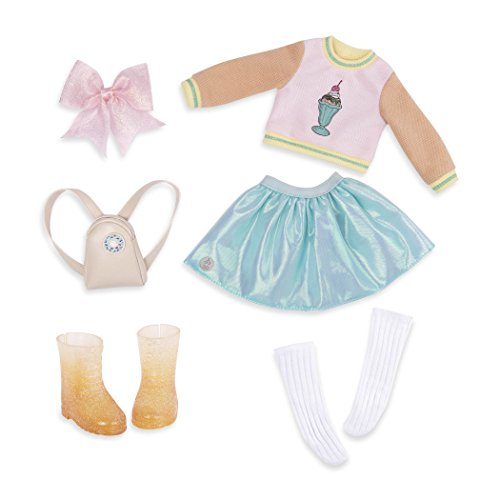 Glitter Girls by Battat – Sweet Dazzle Tutu and Sweater Deluxe Outfit - 14 inch Doll Clothes and Accessories for Girls Age 3 and Up – Children's Toys