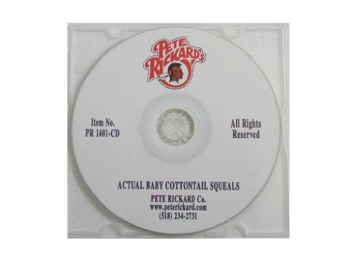 Pete Rickard's 1401CD Actual Baby Cottontail Squeals CD