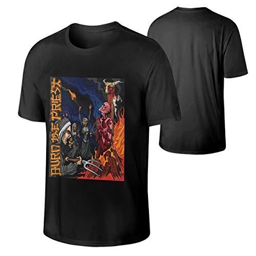 Man Lamb of God Burn The Priest Tshirts XL Black (Lamb Of God Rob Gardner Sheet Music)