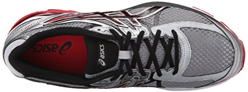 low price cheap online cheap browse ASICS Men's Gel-Flux 3 Running Shoe Silver/Onyx/Racing Red for sale cheap price release dates authentic buy cheap new styles fzjXgHewAB