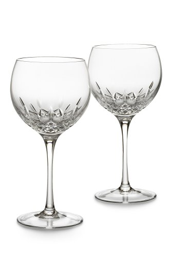 Waterford Crystal Lismore Essence Balloon Wine Pair