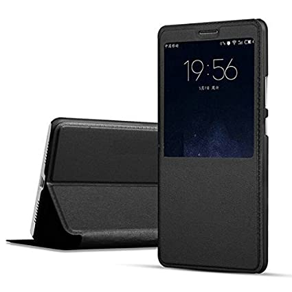 huge discount 4a19a 16f17 ELICA Flip Cover for Oppo F7- Black: Amazon.in: Electronics