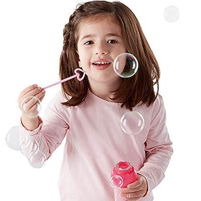 Melissa & Doug Sunny Patch Bella Butterfly Bubble-Blowing Set: Melissa & Doug: Toys & Games