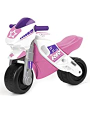 FEBER- Motofeber 2 Racing Girl con Casco (Famosa 800008174)