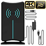 Best Digital Antenna Indoors - Updated 2019 Version Professional 75-150 Miles TV Antenna Review