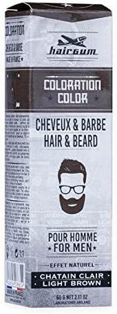 HAIRGUM Tinte Barba-Cabello Nº 5.1 CASTAÑO Claro, marrón ...