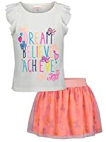 Jojo Siwa Girls Mix and Match Sping Bow Hoodie Top Tee Dress and Jogger