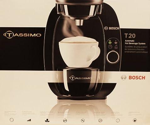 Amazon com: Bosch Tassimo T20 1 Cups Espresso Machine