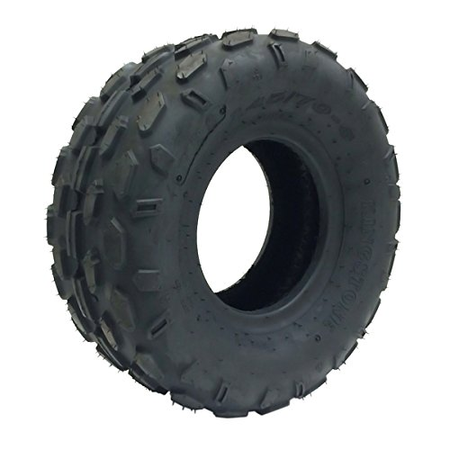 SET OF TWO: ATV Tubeless Tires 145x70-6 (14.5x7x6) P72 - Front or Rear - for HYOSUNG, KASEA, KAZUMA, LEM, LRX Small ATV w 6'' Rims
