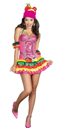 [Juana Banana Costume - Small - Dress Size 2-6] (Spanish Dancing Costumes For Women)