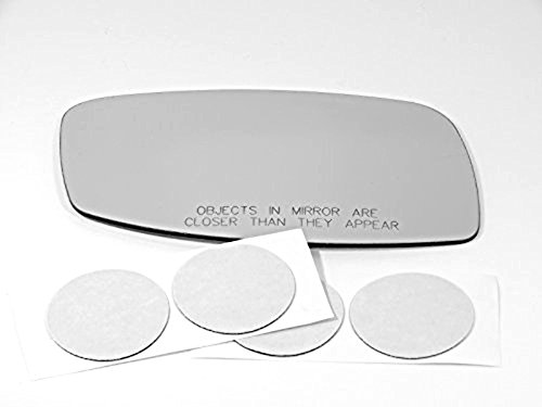 Lincoln Ls Aftermarket - 02-06 Linc LS, Right Passenger Side Mirror Glass Lens W/o Backing Plate (Original Mirror Was Heated) Comes with Adhesive, USA