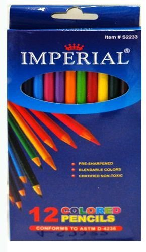 Colored Pencils 96 pcs sku# 1255274MA by DDI