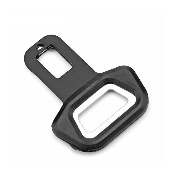 MobileGlaze Excellent Quality Designer Car Seat Belt Clip Buckle Safety Alarm Stopper Canceller