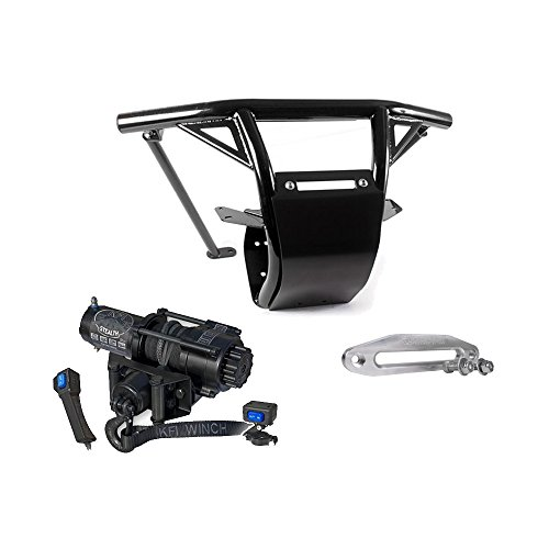 er Can-Am Maverick X3 2017 2018 Black | 9166012661 & KFI Winch SE35 (Hd Front Winch Bumper)