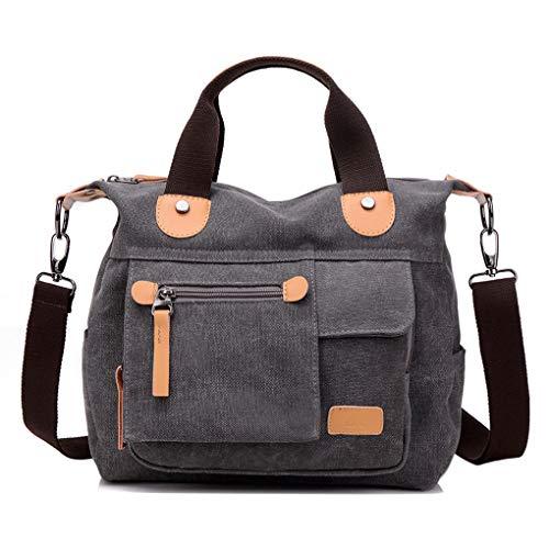 2018 YFLY Women Messenger Bag Vintage Canvas Handbags Travel Female Crossbody Shoulder Bag Big Casual Tote