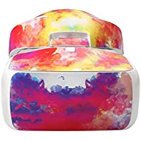 DZT1968 Waterproof anti-dust colorful Decal Skins Wrap Sticker Body Protector For DJI Goggles vr Glass