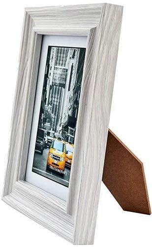 Lambert Frame Marble Gray Wood Picture Frame 5x7