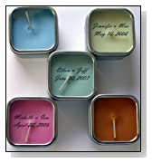 Soy Candle Wedding Favor - Jaipur Jasmine