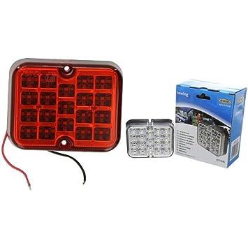 Ring Automotive LED rear Fog Lamp + Led Reversing Lamp bundle - Red