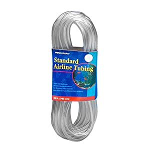 Penn Plax Airline Tubing for Aquariums -Clear and Flexible Resists Kinking, 25 Feet Standard 4
