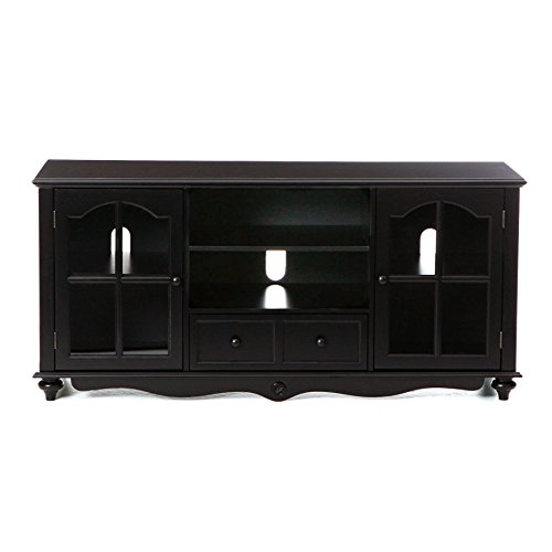 "037732007045 - Coventry 69"" TV Console - Antique Black carousel main 4"