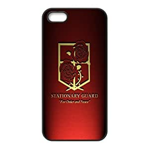 Printed Phone Case Attack on Titan For iPhone 5, 5S NC1Q03121
