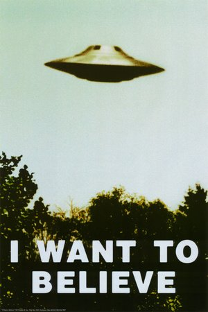 The X-Files - I Want To Believe Print Poster Print, 24x36