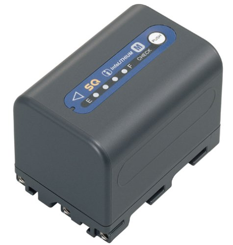 Sony NP-QM71D Super Quick High Capacity InfoLithium Camcorder Battery for DCRDVD301 & HDRSR1 by Sony