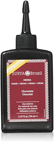 Surya Brasil Products Henna Cream, Chocolate, 2.37 Fluid Ounce from Surya Brasil Products