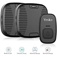 Ymiko 1500ft 100% Door Bell Waterproof Chime Kit