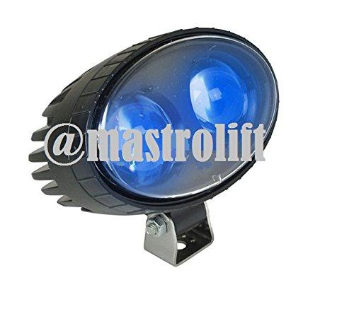 SPOT LIGHT BLUE 10-80 VOLT SAFETY SECURITY PEDESTRIAN FORKLIFT TRUCK UNIVERSAL TOYOTA HYSTER YALE NISSAN TCM CATERPILLAR