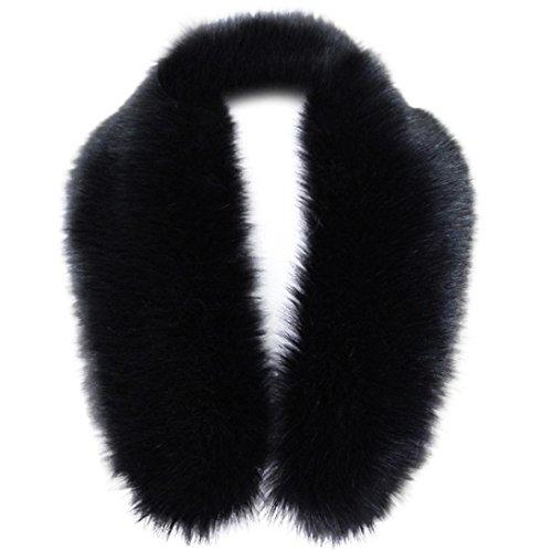 Women's Wrap fashion lookatool Faux Fur Collar Scarf Shawl Collar Stole Scarves