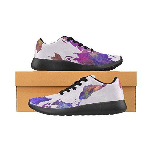 InterestPrint Womens Jogging Running Sneaker Lightweight Go Easy Walking Casual Comfort Sports Running Shoes Multi 12 Z5viuA6bL