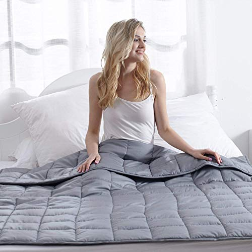 Waowoo Adult Weighted Blanket Queen Size(15lbs 60