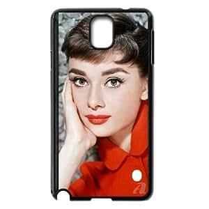 Audrey Hepburn Samsung Galaxy Note 3 Cell Phone Case Black present pp001_9637585