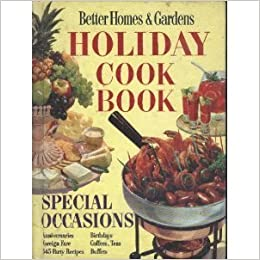 Better Homes Gardens Holiday Cook Book Special
