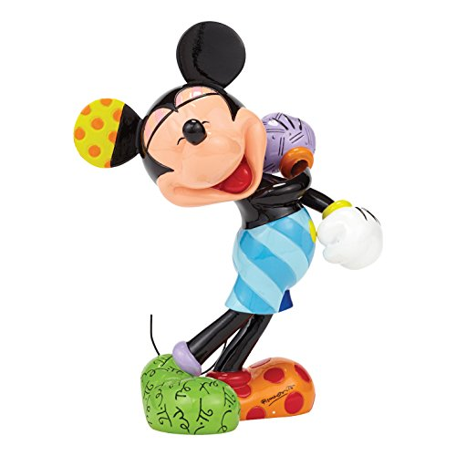 Enesco Disney by Britto Laughing Mickey Mouse Figurine, 8