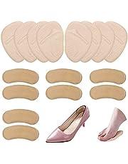 8 pares de almohadillas para el metatarso y almohadillas para los talones, encontrar almohadillas de gel suave para los pies y almohadillas para el talón autoadhesivas para mujeres